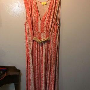 2X Liz Lange Maxi Dress. Stunning